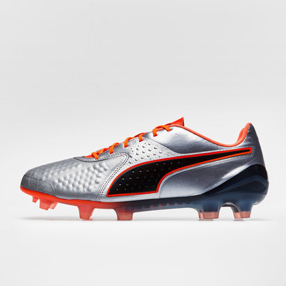 Puma One 1 Leather Low FG - Crampons de Foot