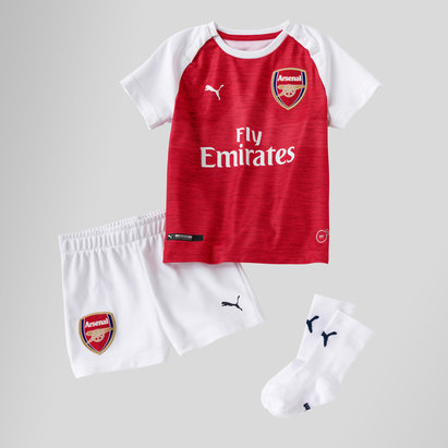 Puma Arsenal 18/19 Kit domicile enfants