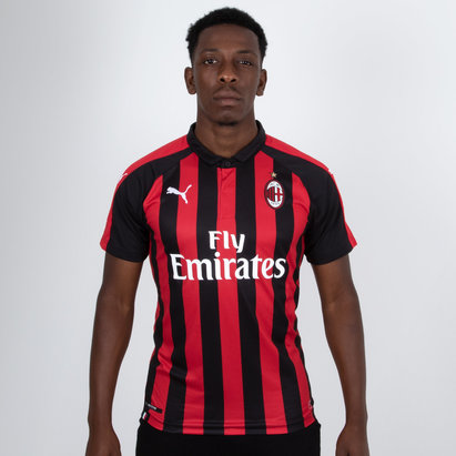 Puma AC Milan 18/19 - Maillot de Foot Réplique Authentique Fit Domicile