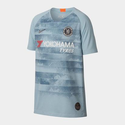 Nike Chelsea Football Club Brt Stad Short Sleeved Jersey Junior Boys
