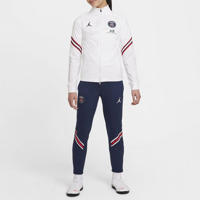 Nike Paris Saint Germain x Jordan Strike Tracksuit 2021 2022 Junior