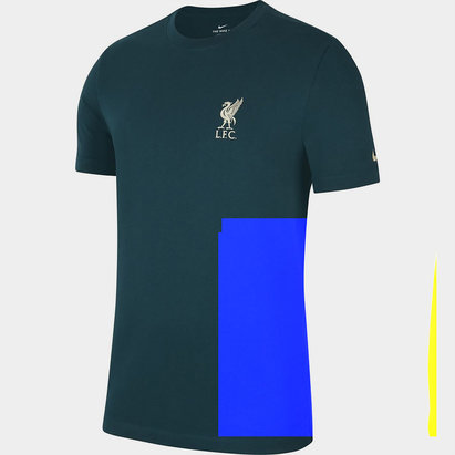 Nike Liverpool Travel T Shirt 2021 2022 Mens