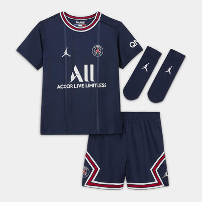 Nike Paris Saint Germain x Jordan Home Baby Kit 2021