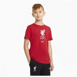 Nike Liverpool Crest T Shirt Junior