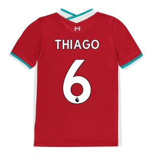Nike Liverpool Thiago Alcantara Home Shirt 20/21 Junior