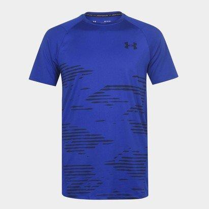 Under Armour Short Sleeve Camo T Shirt Mens