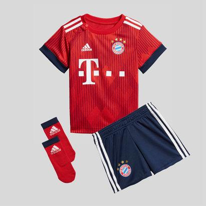 adidas Bayern Munich 18/19 - Kit de Foot Réplique Domicile Bébés