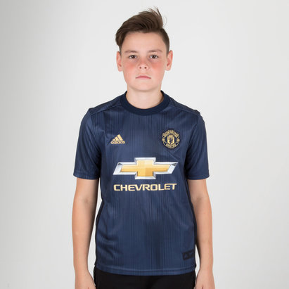 adidas Manchester United 18/19 - Maillot de Foot Réplique 3ème Enfants