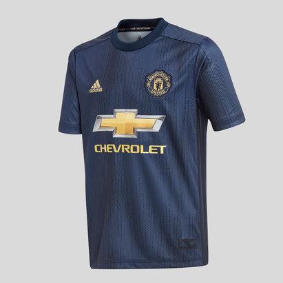 adidas Manchester United 18/19 - Maillot de Foot Réplique 3ème Adolescents