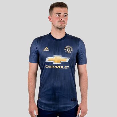 adidas Manchester United 18/19 - Maillot de Foot Authentique 3ème