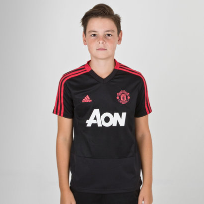 adidas Manchester United 18/19 - Maillot de Foot Entraînement Enfants