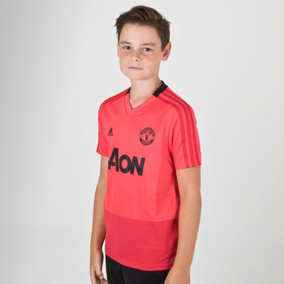adidas Manchester United 18/19 - Maillot de Foot Entraînement Adolescents