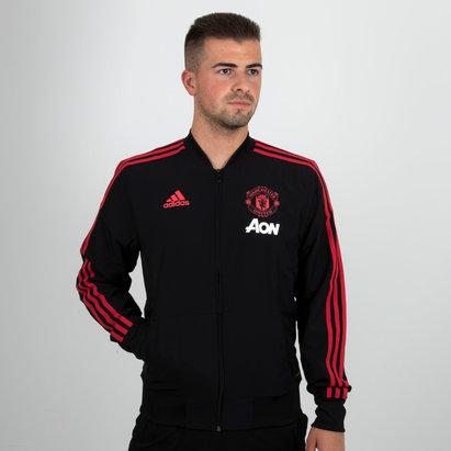 adidas Manchester United 18/19 - Veste de Foot Présentation Joueurs