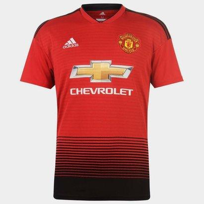 adidas Manchester United 18/19 - Maillot de Foot Réplique Domicile