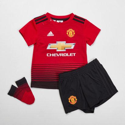 adidas Manchester United 18/19 - Kit de Foot Réplique Domicile Bébés