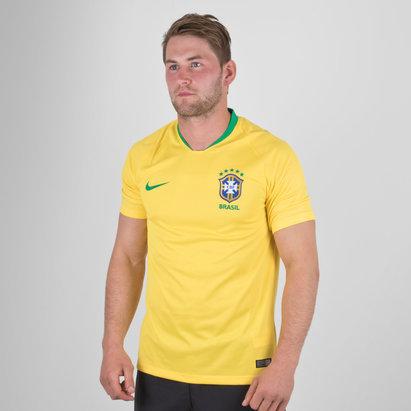 Nike Brésil 2018 - Maillot de Foot Stadium Domicile