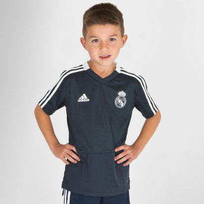 adidas Real Madrid 18/19 - Maillot de Foot Entraînement Adolescents