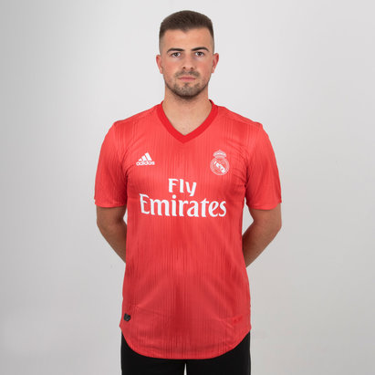 adidas Real Madrid 18/19 - Maillot de Foot 3ème Authentique