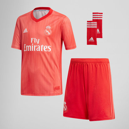 adidas Real Madrid 18/19 - Kit de Foot Réplique 3ème Enfants
