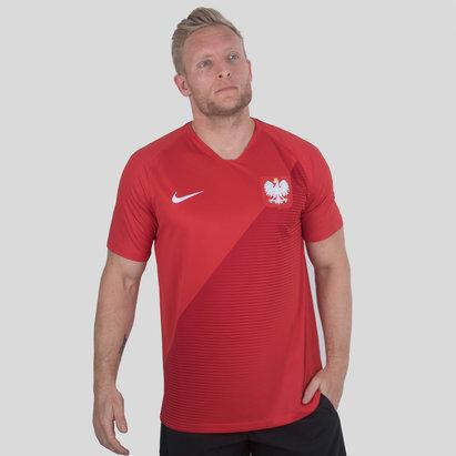 Nike Pologne 2018 - Maillot de Foot Stadium Extérieur