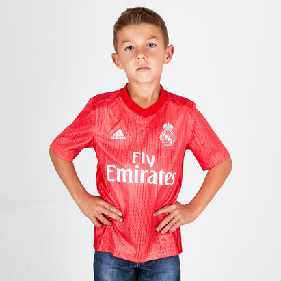 adidas Real Madrid 18/19 - Maillot de Foot 3ème Enfants