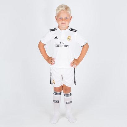 adidas Real Madrid 18/19 - Maillot de Foot Réplique Domicile Jeunes Enfants