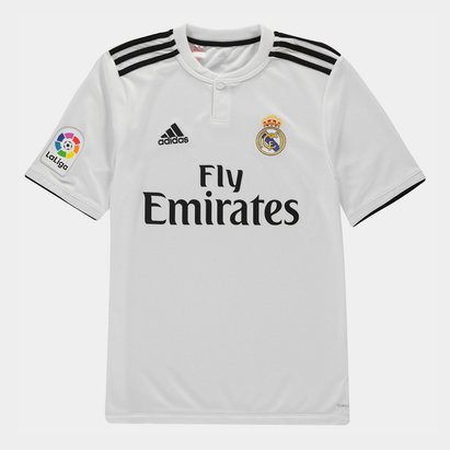 adidas Real Madrid 18/19 - Maillot de Foot Réplique Domicile Adolescents LFP
