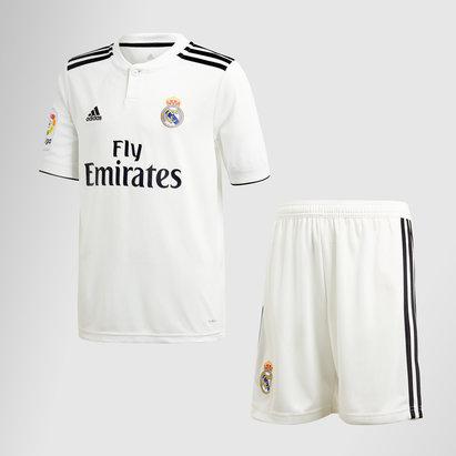 adidas Real Madrid 18/19 - Kit de Foot Réplique Domicile Enfants