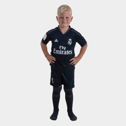 adidas Real Madrid 18/19 - Kit de Foot Réplique Extérieur Enfants