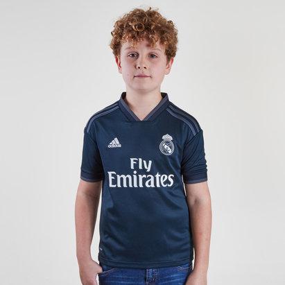 adidas Real Madrid 18/19 - Maillot de Foot Réplique Extérieur Enfants