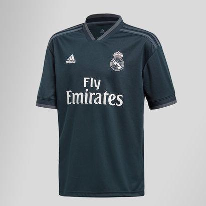 adidas Real Madrid 18/19 - Maillot de Foot Réplique Extérieur Adolescents