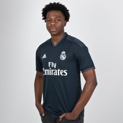 adidas Real Madrid FC 18/19 - Maillot de Foot Authentique Extérieur