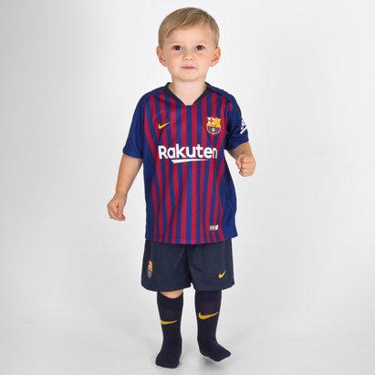 Nike FC Barcelone 18/19 - Kit de Foot Domicile Bébés
