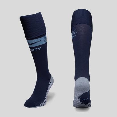 Nike Manchester City 18/19 - Chaussettes de Foot Domicile