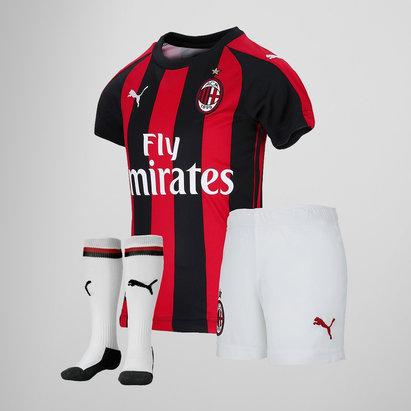 Puma AC Milan 18/19 - Kit de Foot Domicile Bébés