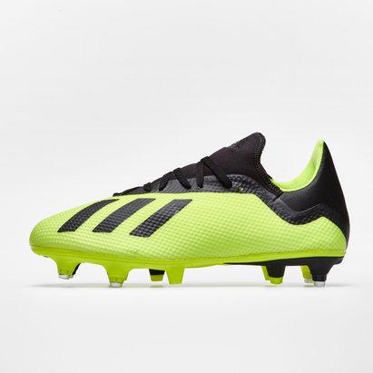 adidas X 18.3 SG - Crampons de Foot