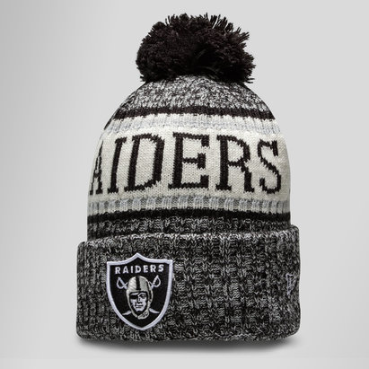 New Era Oakland Raiders NFL Sideline - Bonnet à Pompon