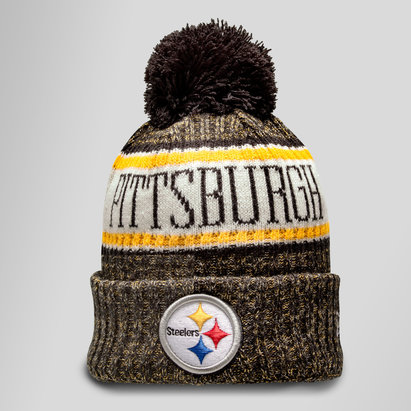 New Era Pittsburgh Steelers NFL Sideline - Bonnet à Pompon