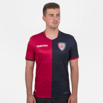 Macron Cagliari Calcio 18/19 - Maillot de Foot Domicile