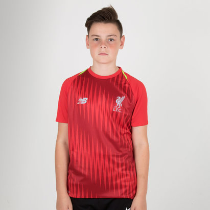 New Balance Liverpool FC 18/19 - Maillot de Foot Entraînement Elite Matchday Enfants
