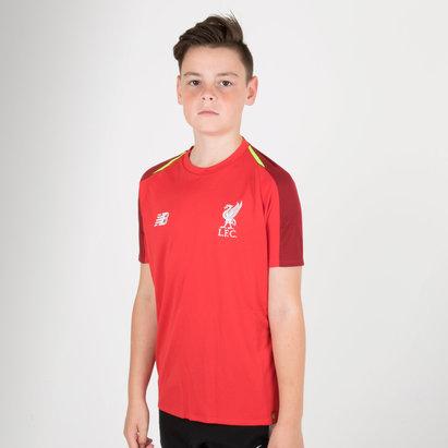 New Balance Liverpool FC 18/19 - Maillot de Foot Entraînement Elite Enfants
