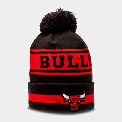 New Era NBA Chicago Bulls Team - Bonnet à Pompon