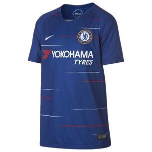 Nike Chelsea FC 18/19 - Maillot de Foot Réplique Domicile Enfants
