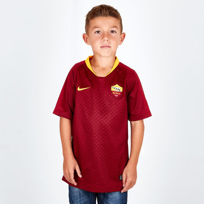 Nike AS Roma 18/19 - Maillot de Foot Réplique Domicile Enfants