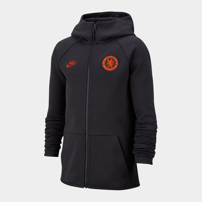 FC NikeSportsWear TechFleece Full Zip Hoodie Junior Boys