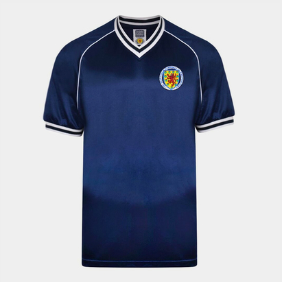Score Draw Scotland 1982 Home Shirt