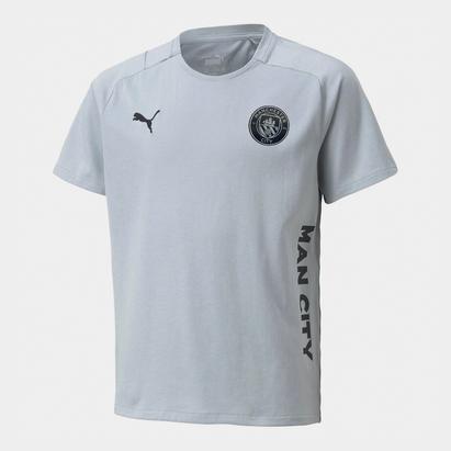 Puma Manchester City FC Travel T-Shirt Juniors