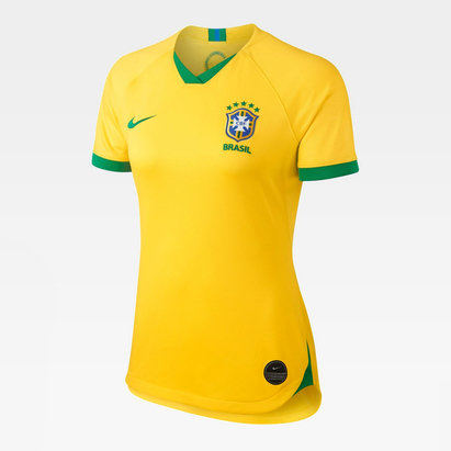 Nike Brazil Home Jersey 2019 Ladies