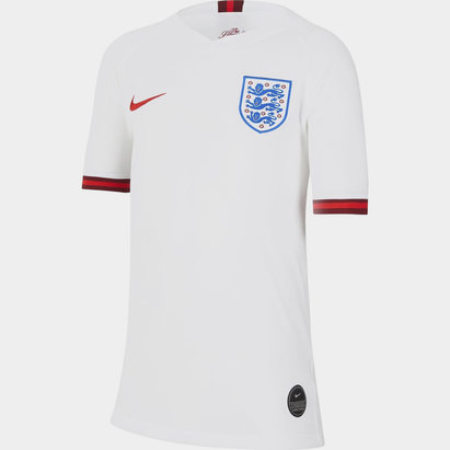 Nike England Womens Home Shirt 2019 Junior