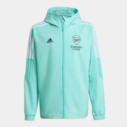adidas Arsenal Presentation Jacket 2021 2022 Junior